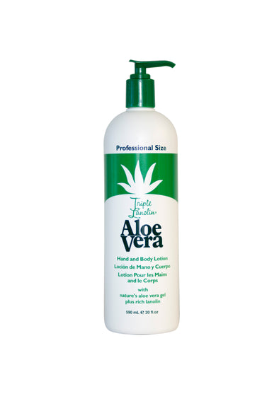 Triple Lanolin Aloe Vera lotion - 20 0z