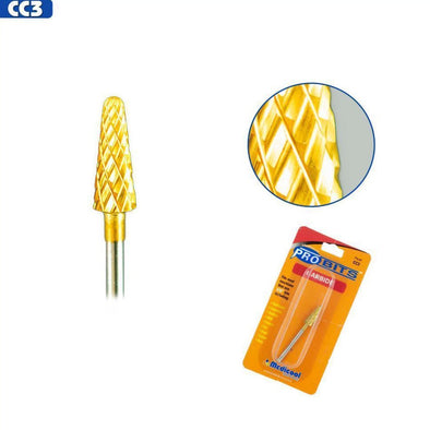 CC3 Gold Carbide Tapered Cone Bit