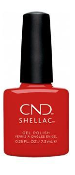 CND Shellac Devil Red