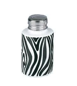 Zebra Porcelain Pump 4oz