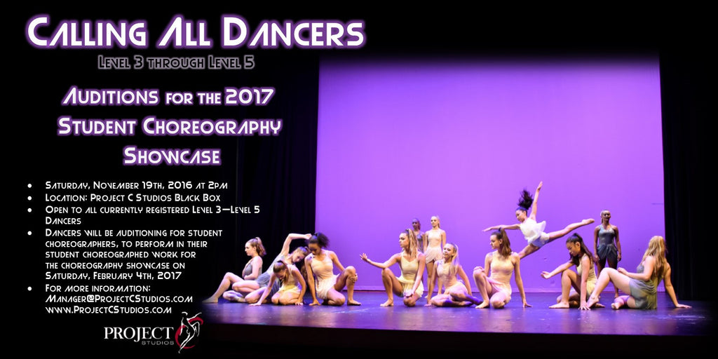 CALL FOR SUBMISSIONS & DANCERS | Student Choreography Showcase