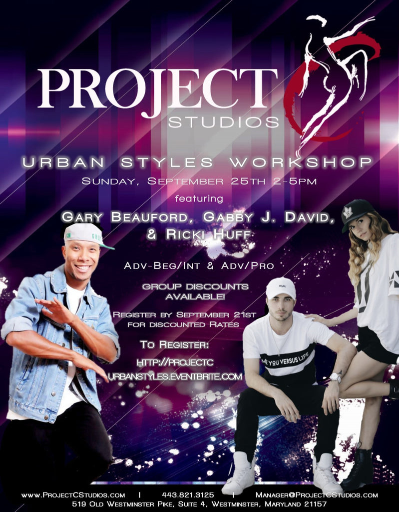 Urban Styles Workshop | September 25th
