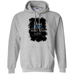 Pullover Hoodie 8 oz Blue #Chooseyourteamwisely