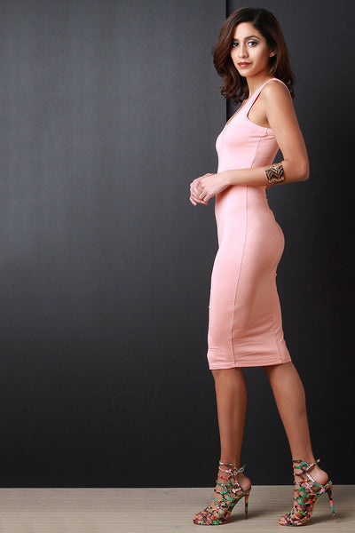 Casual Tank Bodycon Dress