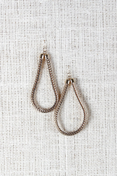 Rope Chain Drop Earrings