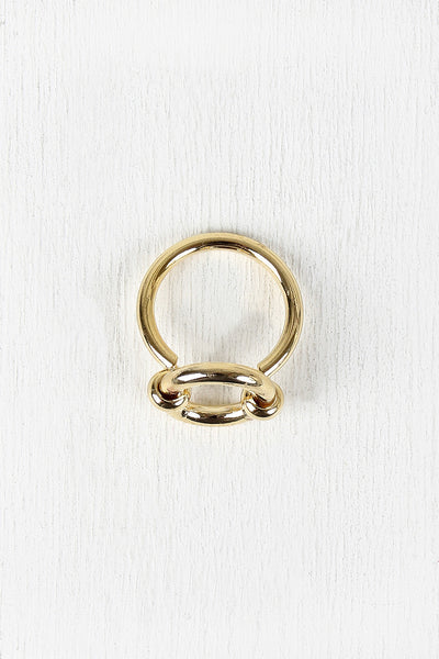 Open Circle Hardware Ring