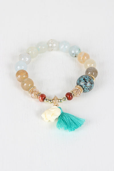 Lucky Elephant Beaded Bracelet