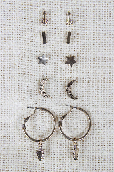 Night Hunter Earring Set