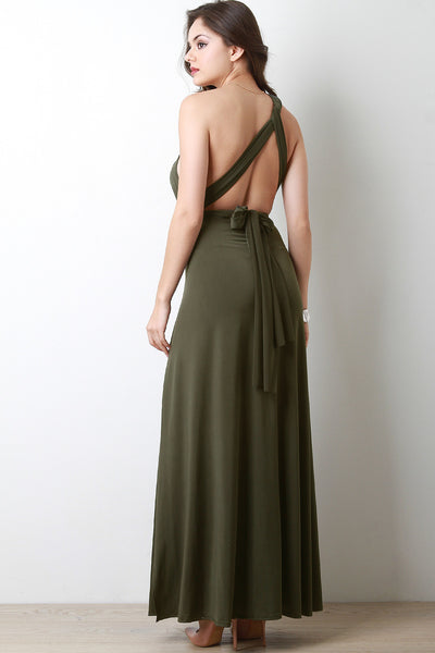 Convertible Multi Wrap Maxi Dress