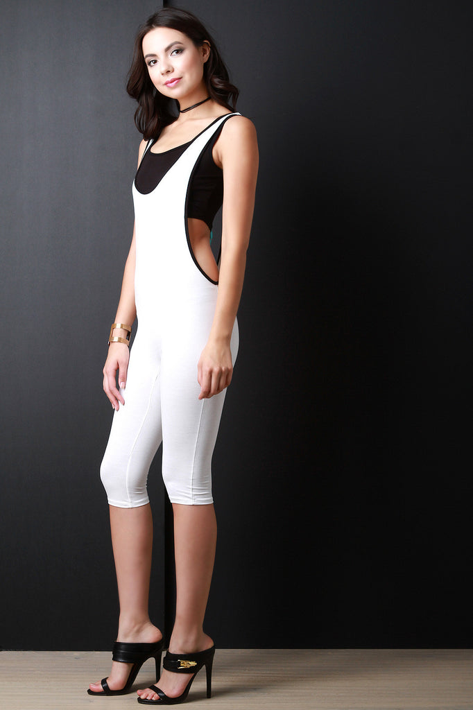 Sporty Sleeveless Romper