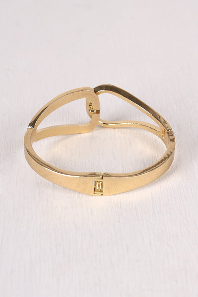 Locking Loop Cuff Bracelet