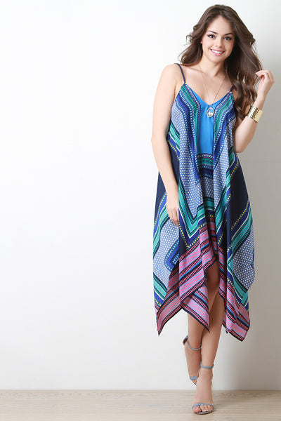 Boho Handkerchief Dress