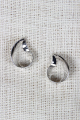 Abstract Tear Drop Earrings - JDI Threads
