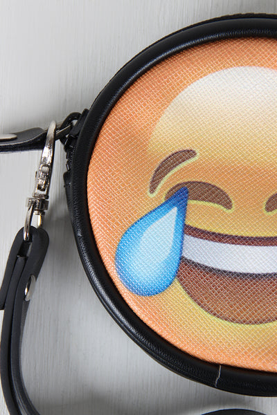 Laughing Crying Emoji Coin Purse