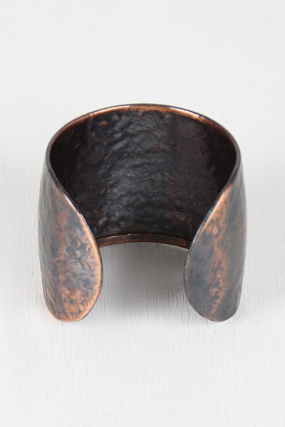 Anchors Away Bronze Cuff