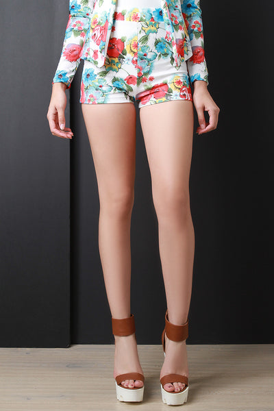 Wild Posey High Rise Shorts
