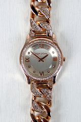 Rhinestone Chain Band Watch