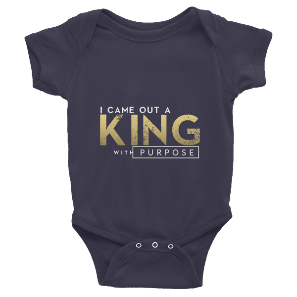 Infant short sleeve one-piece Gold Edition