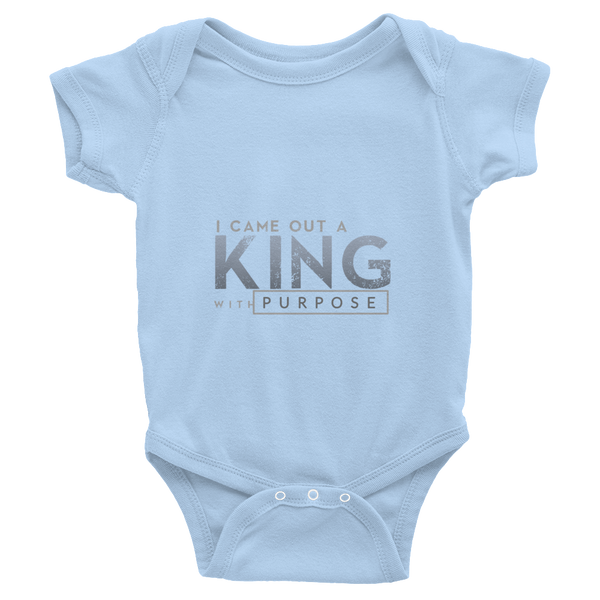 Infant short sleeve one-piece King