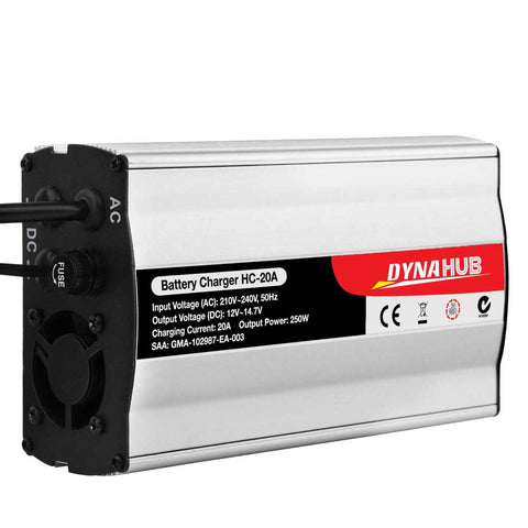 Motorcycle Battery Charger 20Amp 12V-240V