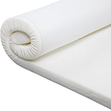 Visco Elastic Memory Foam Mattress Topper 5cm Queen