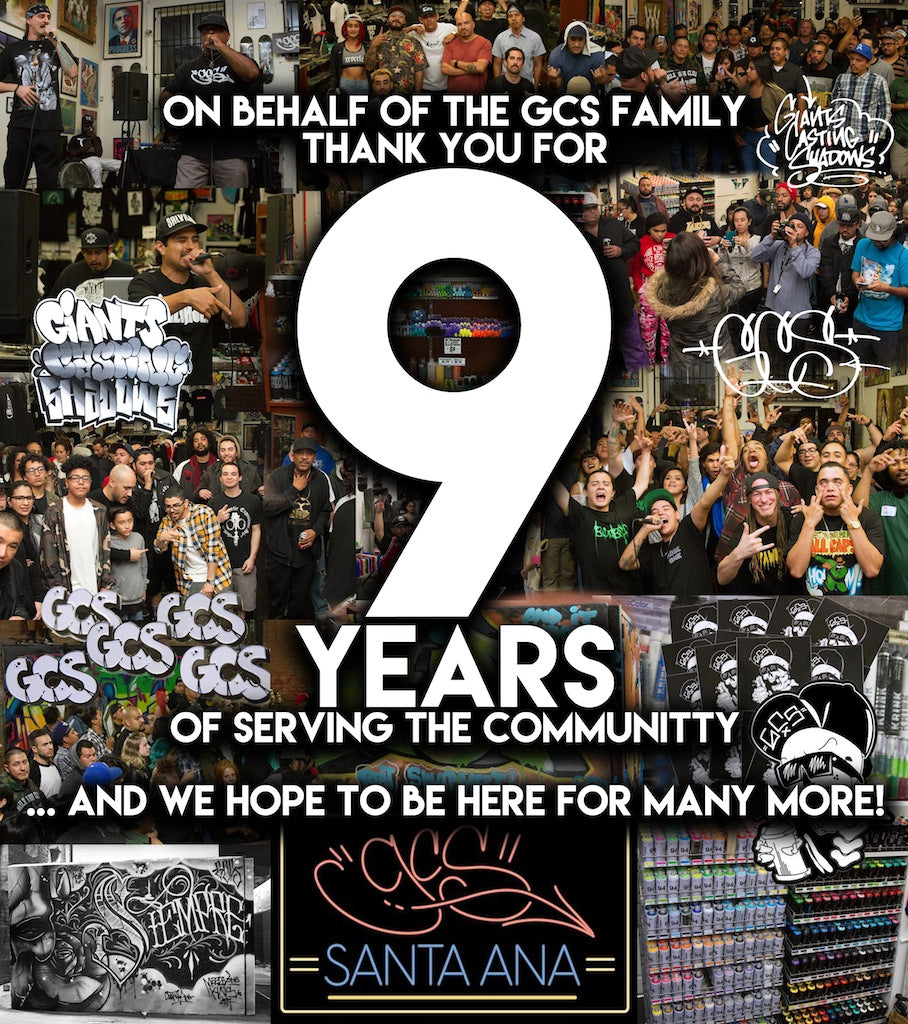 9 Years in Santa Ana