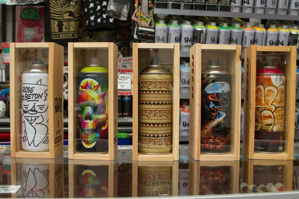 MTN artist series cans at GCS