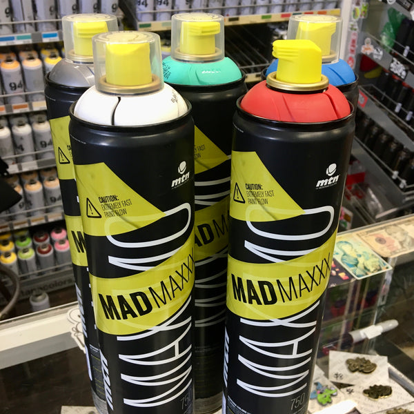 Mad Maxxx Spray Paint (in store only) - GCS Clothing