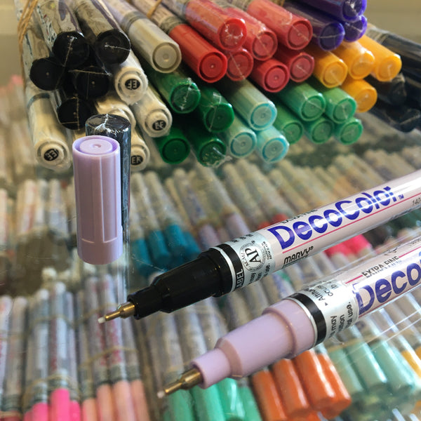 Decocolor Paint Marker (extra fine point) - GCS Clothing