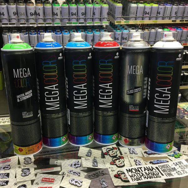 Megacolor Spray Paint by MTN (in store only) - GCS Clothing