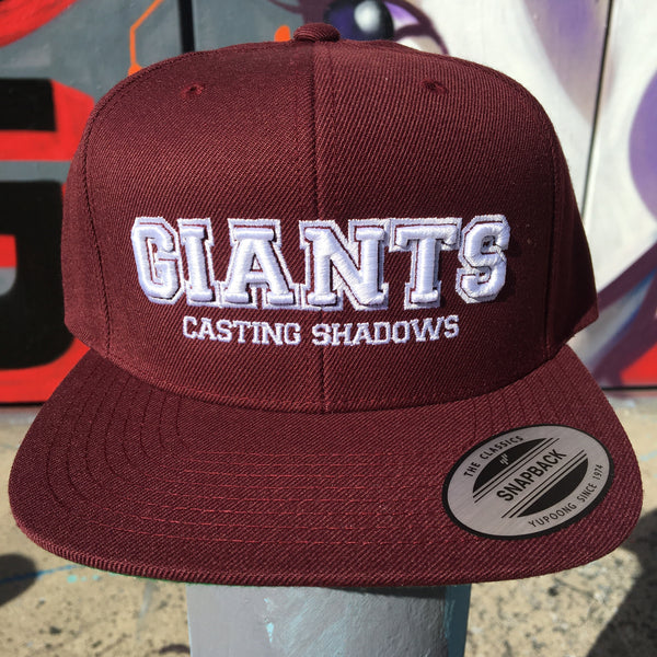 GCS U hat (burgundy)