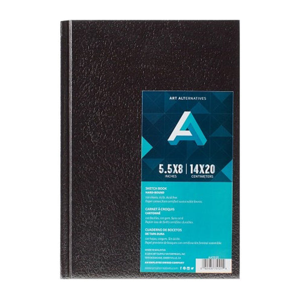 5.5 x 8 inch Black Book - GCS Clothing
