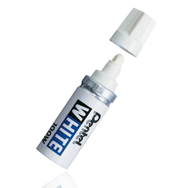 Pentel White Marker 100W - GCS Clothing