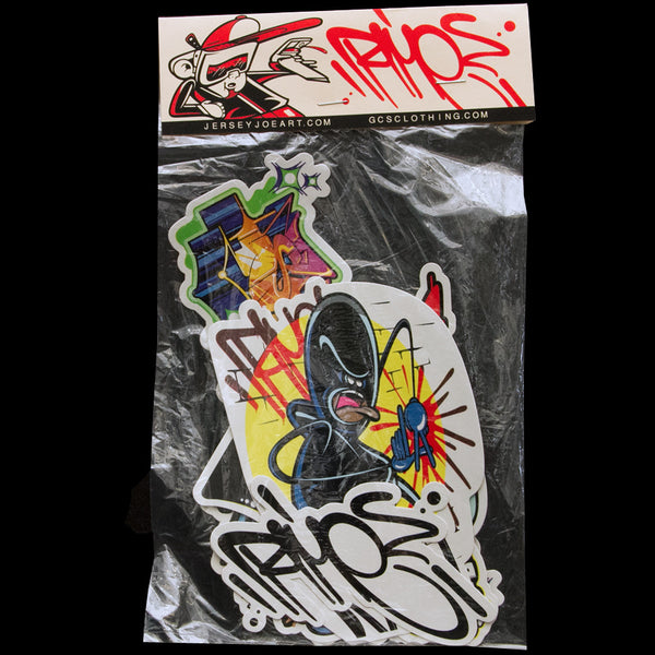 RIME x GCS sticker pack - GCS Clothing