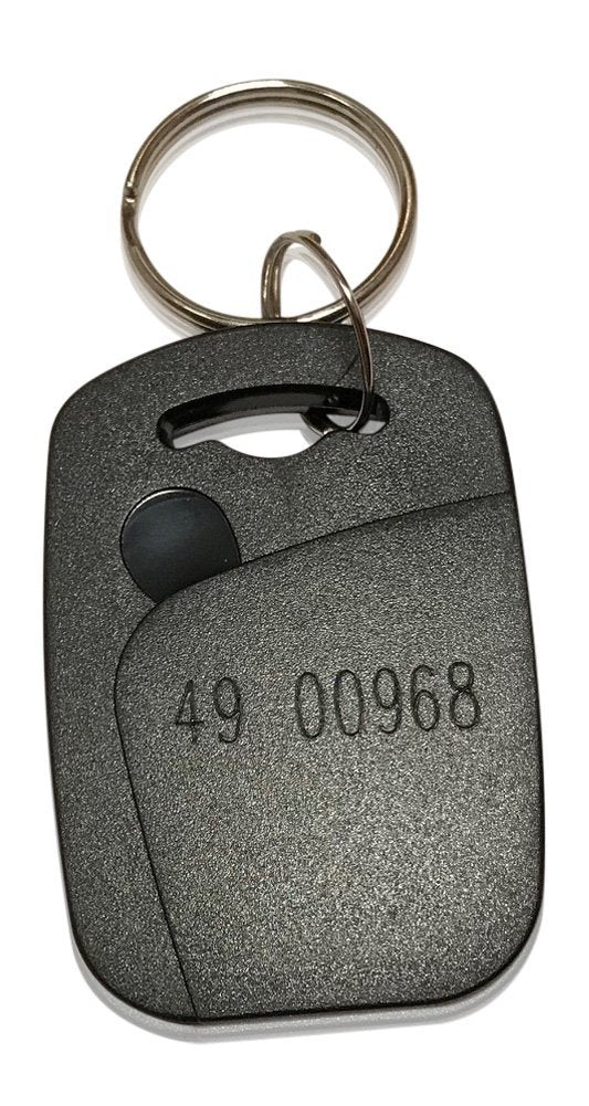 100 Square 26 Bit Proximity Key Fobs Weigand RhinoFit Custom