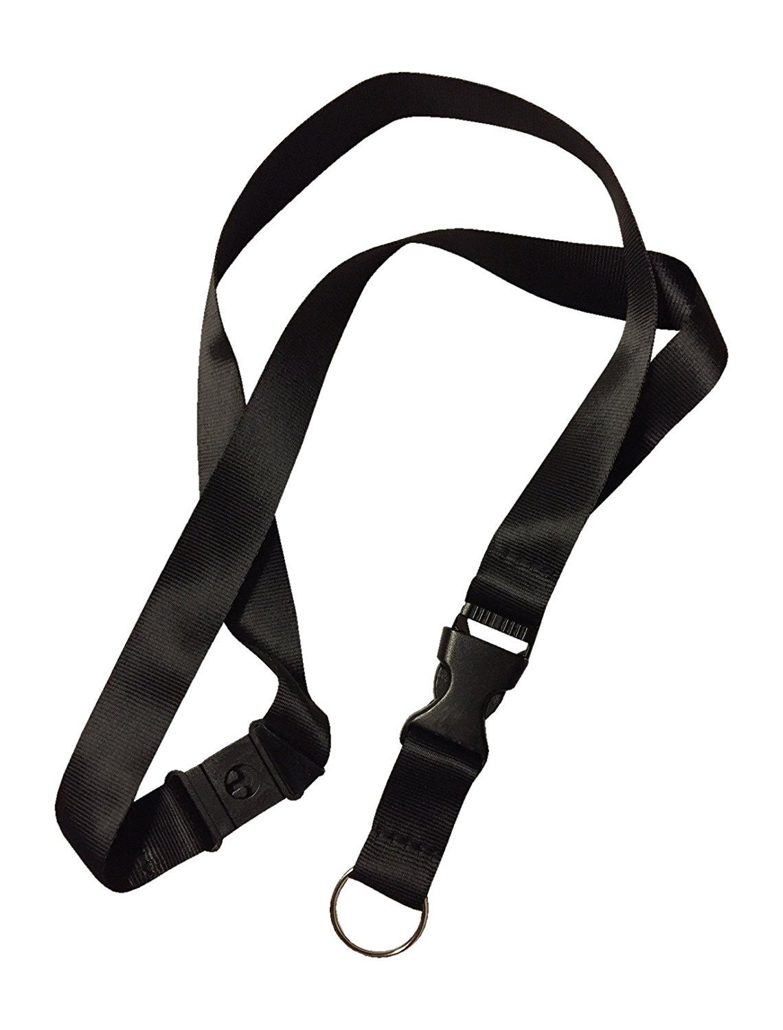5 pcs Black anti choke Lanyard perfect for ID Badge Holders Features Strangle Proof Release Buckle
