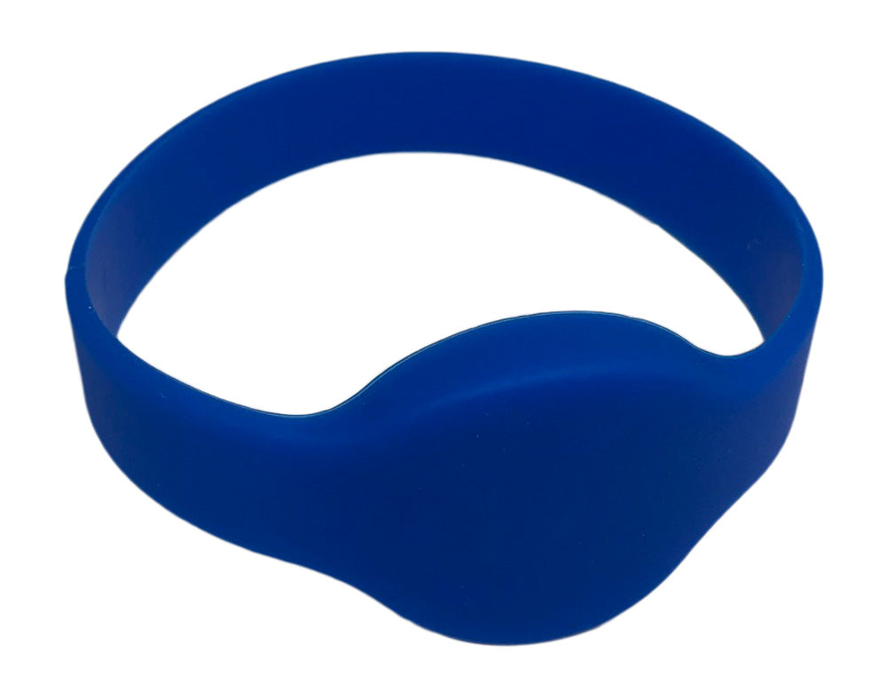 25 pcs 26 Bit Blue Proximity Wristbands For Access Control Systems