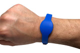 100 pcs 26 Bit Blue Proximity Wristbands For Access Control Systems