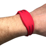 5 Red Adjustable 26 Bit Proximity Wristbands