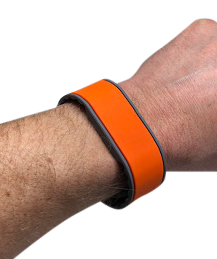 50 Orange Adjustable 26 Bit Proximity Wristbands