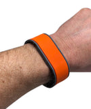 10 Orange Adjustable 26 Bit Proximity Wristbands