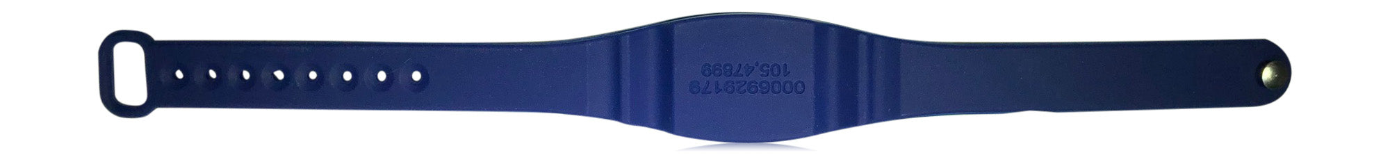 10 Blue Adjustable 26 Bit EM Proximity Wristbands