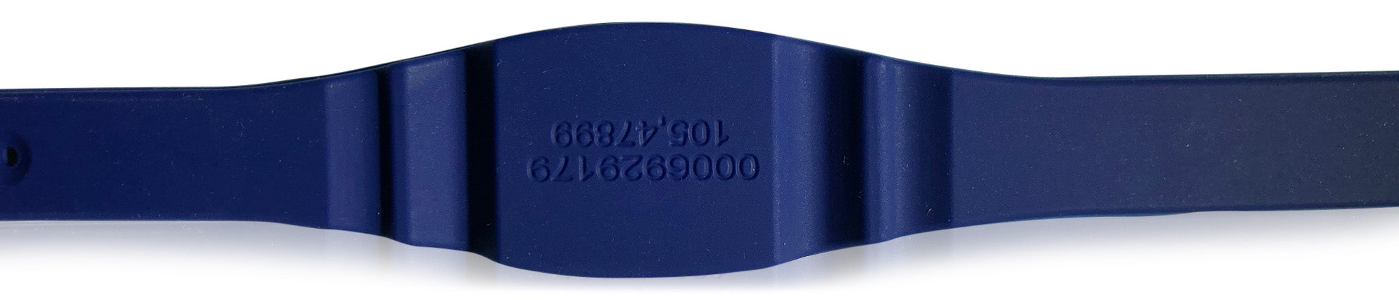 2 Dark Blue Adjustable 26 Bit Proximity Wristbands