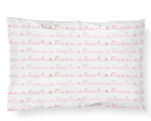 Heart Mama Pillowcase - Hearts Collection - Dotboxed
