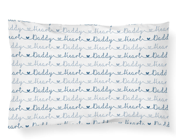 Heart Daddy Pillowcase - Hearts Collection - Dotboxed