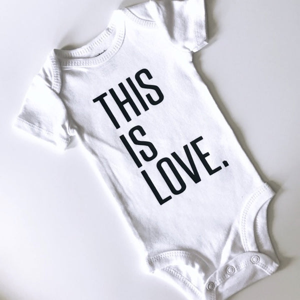 IMPERFECT This Is Love (bold font) - BODYSUIT