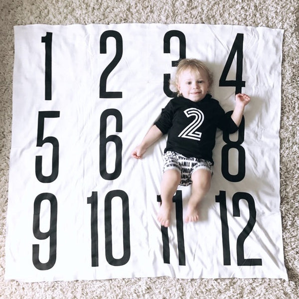 ANNIVERSARY BLANKET - BIG + BOLD NUMBERS - Wholesale - Dotboxed