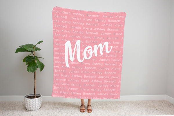 Letter to...   *Single Layer Minky Blanket