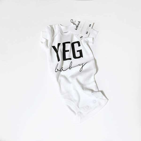 SLIGHTLY IMPERFECT - CITY BABY-  BODYSUIT - Dotboxed