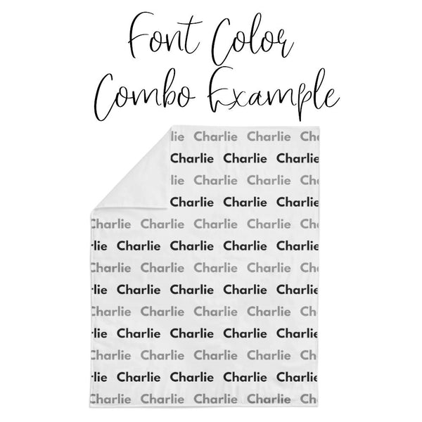 Personalized Name Crib Sheet - GREY WATERCOLOR RAINBOWS - Dotboxed